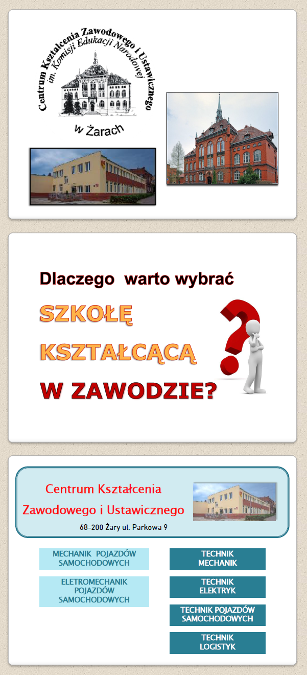 Centrum Kształcenia Zawodowego i Ustawicznego w Żarach