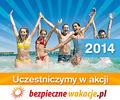 Bezpieczne wakacje 2014